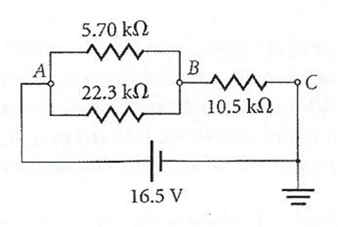 resistor values parallel two resistors with the values 5 70 kiloohms and 22 chegg