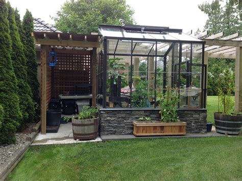 inspiration backyard greenhouse best design on backyard