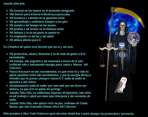 oracion de la santa muerte deadman la nueva orden tu blog de oraciones recetas y inf