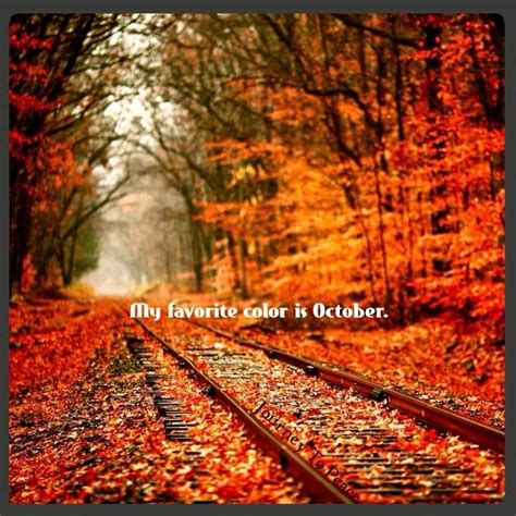 october is my favorite color my favorite color is october and emerald me