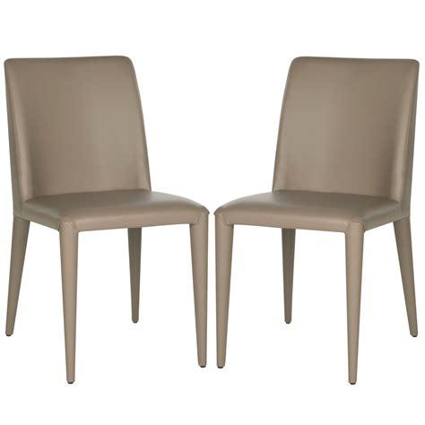 garretson  leather side chair  set