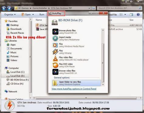 membuat file iso tanpa cd cara membuat file menjadi berformat iso tanpa cd dvd