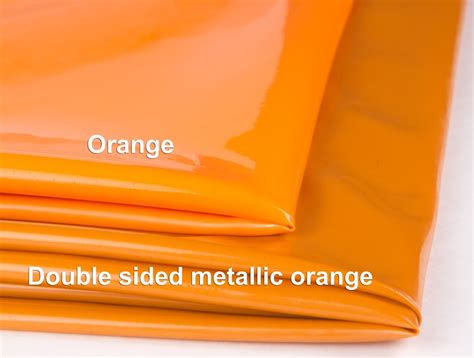 different shades of orange mjtrends 20mm latex sheeting