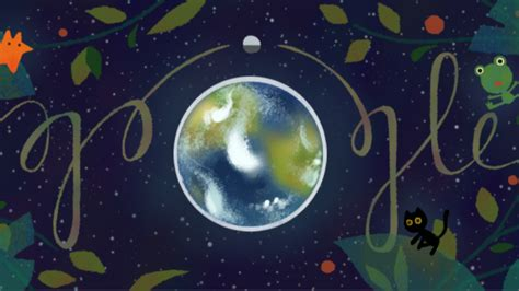 Earth Search Earth Day Doodle Offers Up Conservation Tips To