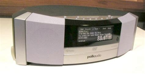 Polk Isonic Hdxm Radio Dvd Player by Not Just Another Table Radio Polk Audio Raises Bar With I