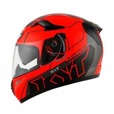 Helm Kyt K 2 Rider Green Fluo jual kyt k2 rider fluo edt 1helm