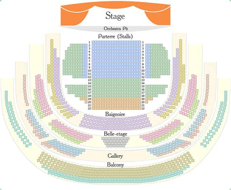 Baignoire Theatre by Seating Plans Mariinsky Ballet And Opera Theatre St