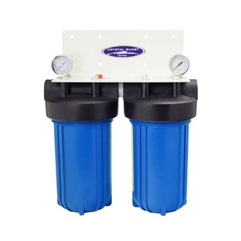 whole house filter dual cartridge 10 x5 cqe wh 01105