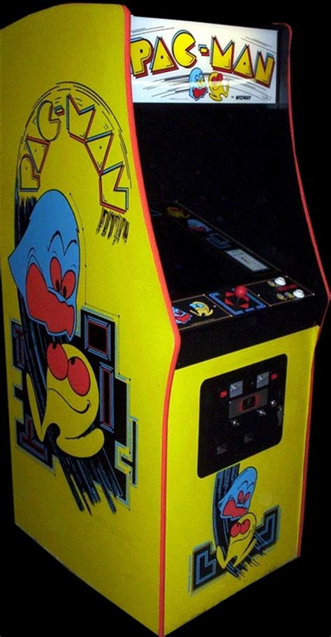 pac man arcade cabinet pac man midway rom