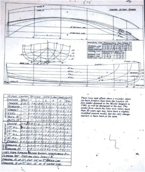 hacker boat plans 1932 lawton tender build