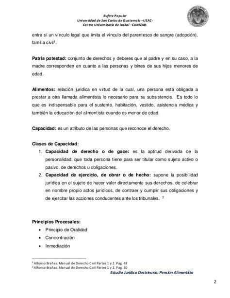 disminucin pensin alimenticia modelo de demanda peru estudio jur 237 dico doctrinario pension alimenticia