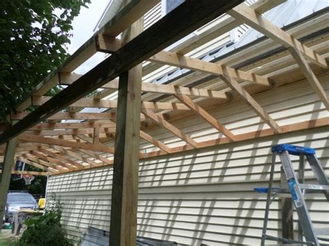 Building Onto A Garage by How To Build A Lean To Shed In 5 Easy Steps Diy Shareable
