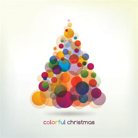 colorful christmas tree free images at clker com