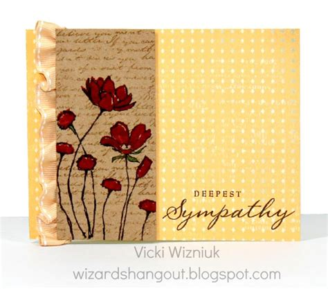 Deepest Sympathy Card Template by Wizard S Hangout Deepest Sympathy