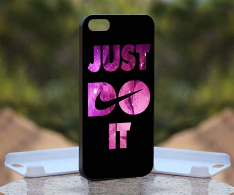 Iphone 4 4s Nike Black Logo Hardcase nike just do it logo print on iphone 4 4s