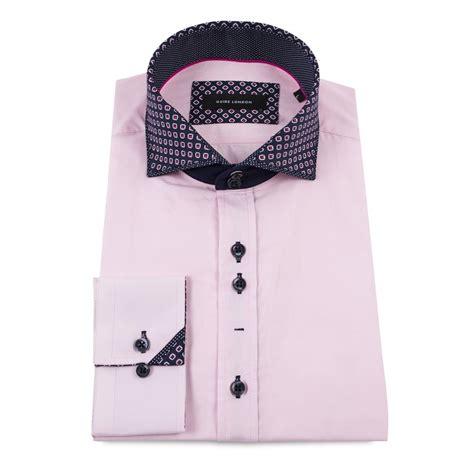 Layered Collar Shirt guide layered print collar mens shirt ls74457 the