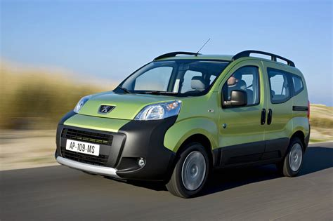 peugeot bipper dimensions peugeot bipper technical specifications and fuel economy