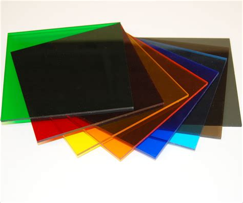 Acrylic Sheets cast acrylic transparent colors tap plastics