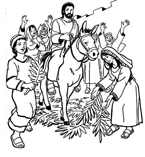 coloring page of jesus on palm sunday 81 best palm sunday images on pinterest palm sunday