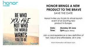 Invitation Letter Launching New Product Honor 8 Un 233 V 232 Nement Virtuel Pour La Fin Du Mois Frandroid
