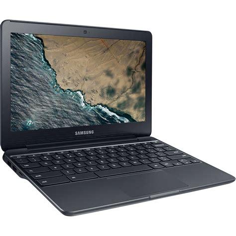 samsung 3 chromebook samsung 11 6 quot 16 gb chromebook 3 black xe500c13 k05us b h