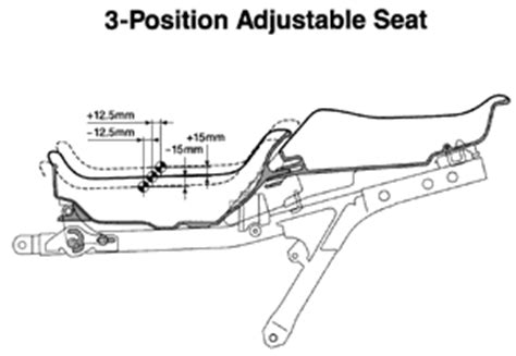 st1300 seat removal honda st1300 information and specifications