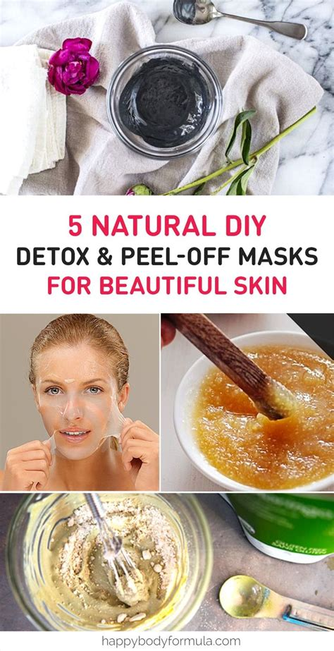 Diy Detox Scrub by 5 Best Scrub Peel Masks To Make At Home