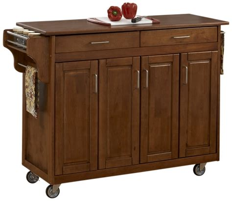 home styles create a cart warm oak kitchen cart with home styles 9200 1066g create a cart warm oak finish with