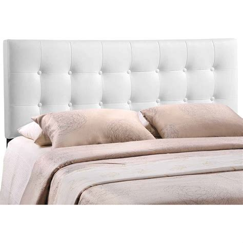 headboard vinyl modway emily queen vinyl headboard multiple colors