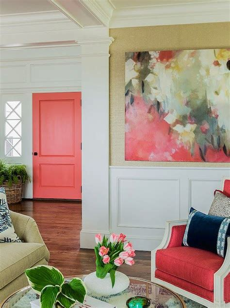 coral color home decor transform your home with a color pop