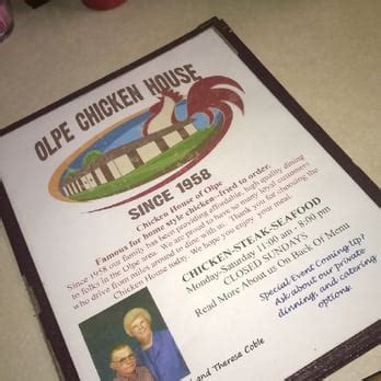 olpe chicken house chicken house traditional american restaurants 8 e highway 99 olpe ks united