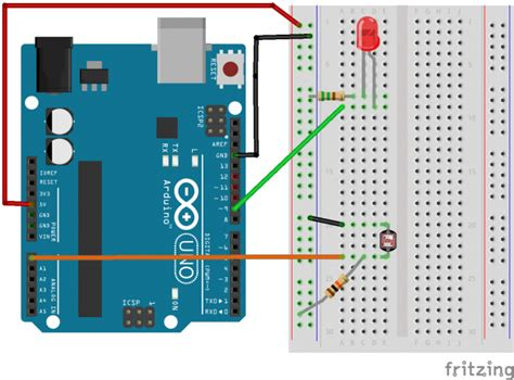 photoresistor uses circuit 9 the photoresistor 60210 a electronic media studio interactivity