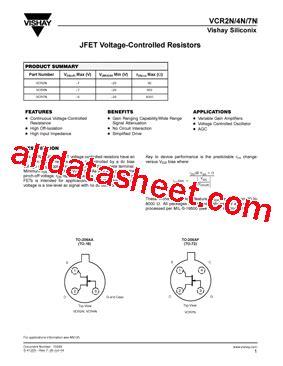 voltage dependent resistor datasheet vcr4n datasheet pdf toshiba semiconductor