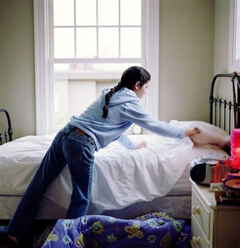 making the bed cleaning skills to teach your child