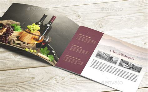 wine brochure template 25 wine brochure templates free psd ai eps format
