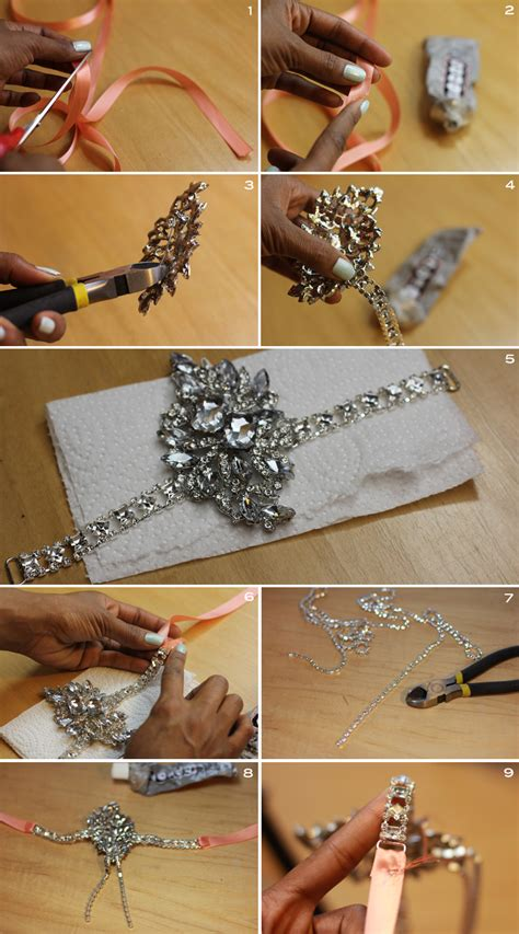 How To Make A Great Gatsby Headpiece | diy great gatsby headband frugal nomics com