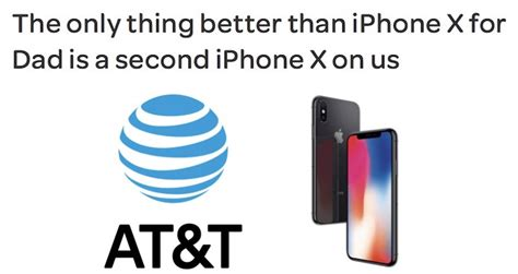 at t launches s day buy one get one iphone x deal macrumors