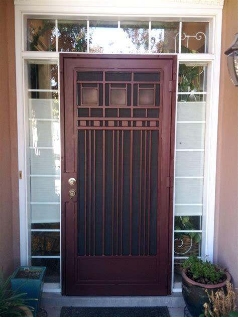 front door gate images  pinterest copper