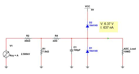 diode voltage divider the answer is 42 voltage measurements using the arduino