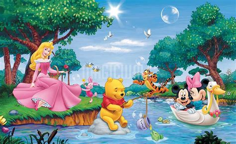 Custom Wall Murals Canada disney cartoon characters wall murals wall decals