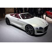 All Electric Bentley EXP 12 Speed 6e Convertible At Geneva