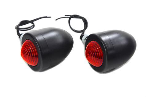 Len 8 Volt 3 Watt by V Manufacturing Black Filament Bullet L