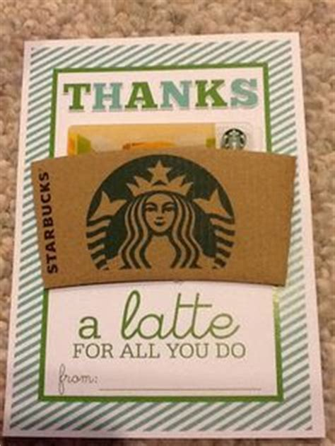 How Do You Add A Gift Card To Itunes - thanks a latte on pinterest paper pumpkin teacher appreciation gifts and employee