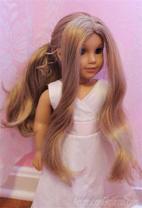 Elsa Hairstyle Doll by Doll Hairstyle Disney Inspired Elsa Coronation Bun