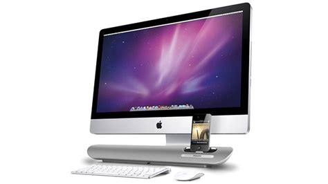 Imice Speakers by Aluminum Speaker Dock Looks Right At Home Your Imac