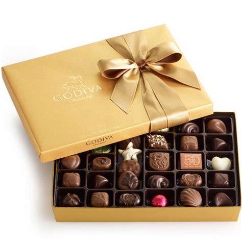 gold ballotin 36 pc chocolate truffle gift box