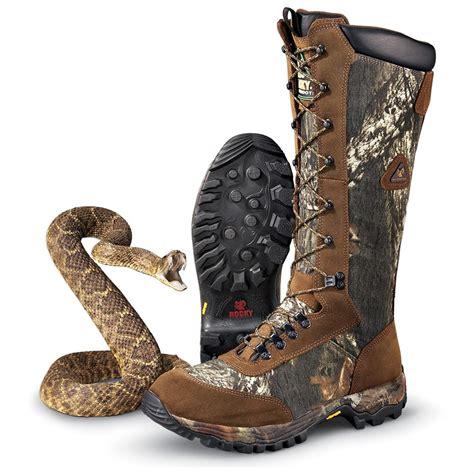 snake boots for sale s rocky 174 prohunter waterproof snake boots mossy oak