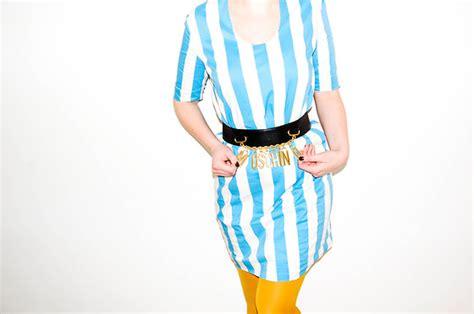 Dress Sally Belt sally cos dress moschino belt i wear a suitcase