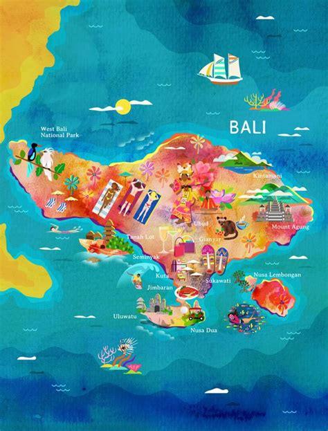 bali map  garuda indonesia  kitkat pecson travel