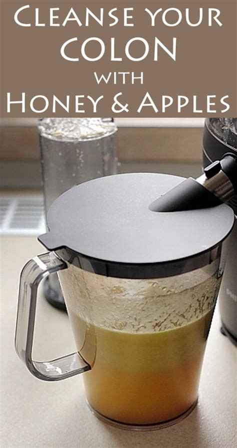 The Counter Detox To Cleanse Your by Cleanse Your Colon With Honey And Apples